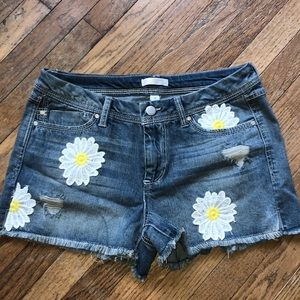 Lauren Conrad daisy jean shorts sz 8